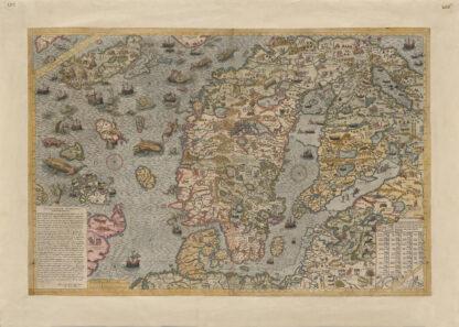 Carta Marina från 1572