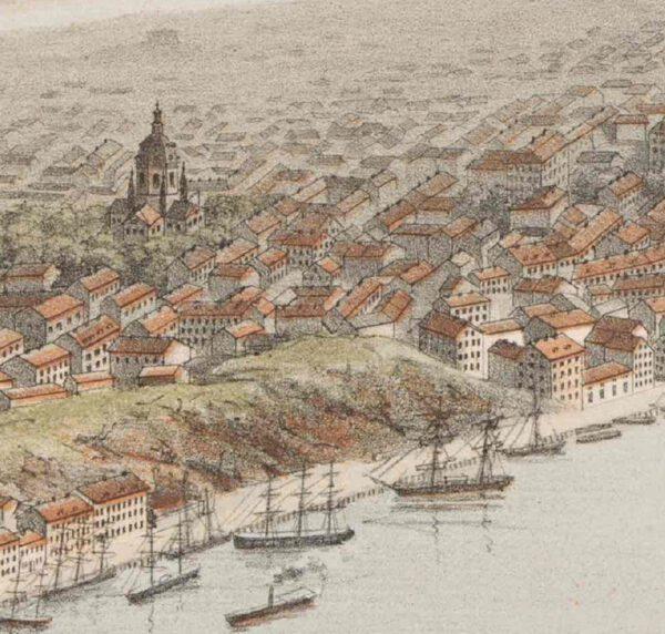 Stockholm från Saltsjön