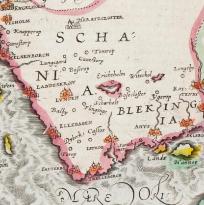 Danmark och Skåne 1500-tal
