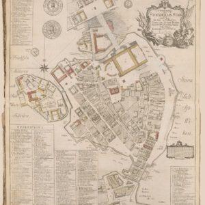 Karta över Stockholm 1771