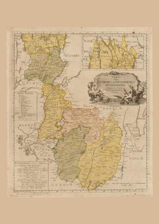 Älvsborg eller Vänersborgs hövdingedömen - 1781