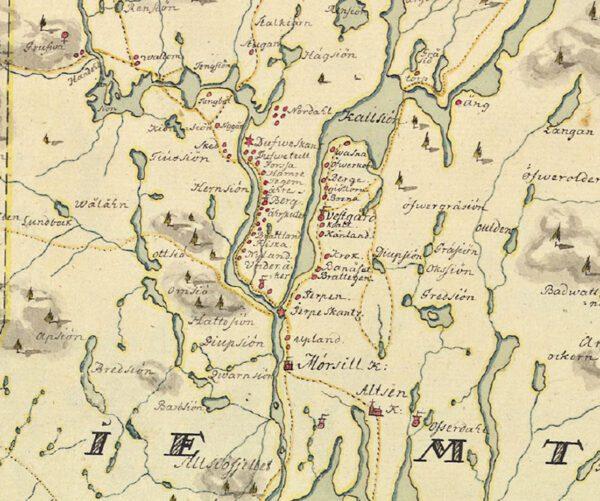 Jämtland och Härjedalen 1700-tal