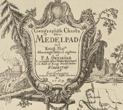 Ångermanland, Medelpad, Jämtland och Åsele lappmark 1771