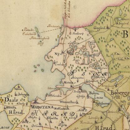 Östergötland sent 1600-tal