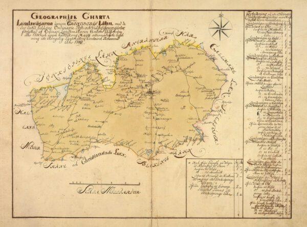 Kronobergs län 1731