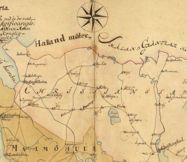 Skåne 1731
