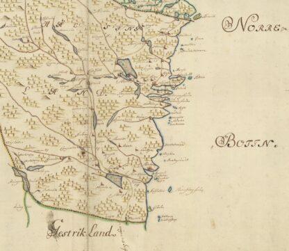 Hälsingland och Medelpad 1600-tal