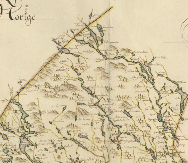 Jämtland sent 1600-tal