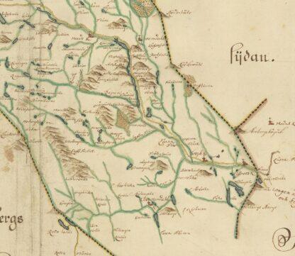 Härjedalen sent 1600-tal