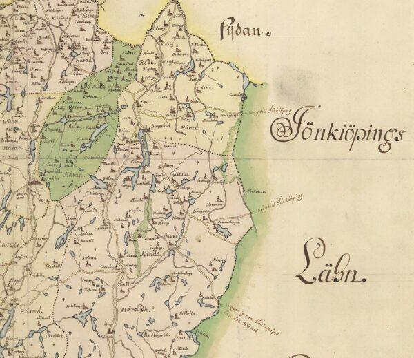 Älvsborgs län sent 1600-tal