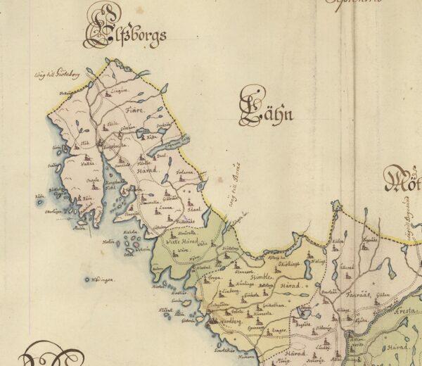 Halland 1600-tal