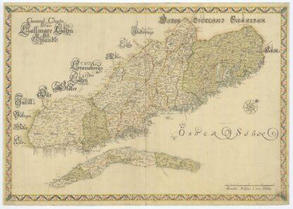 Kalmar län sent 1600-tal