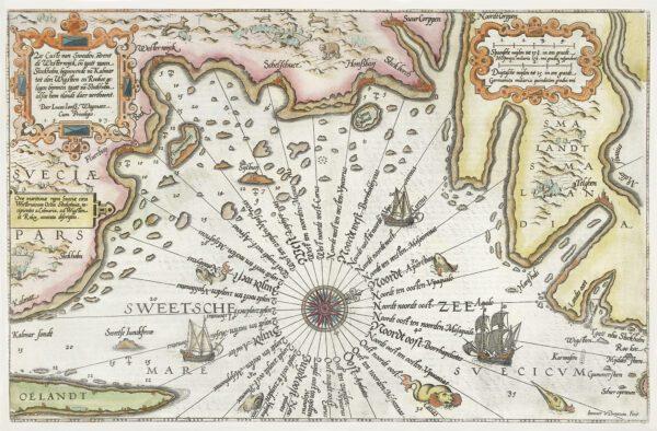 Sveriges nedre östkust 1580-tal