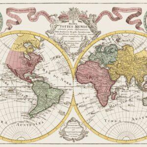 Världskarta 1775