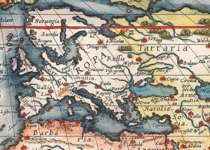 Världskarta 1500-tal
