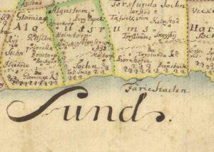 Landskarta Öland