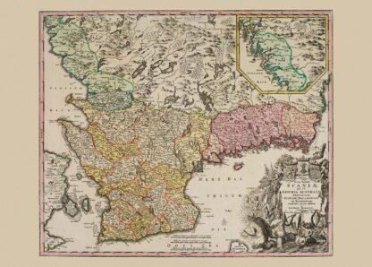Skåne, Blekinge och Halland 1716