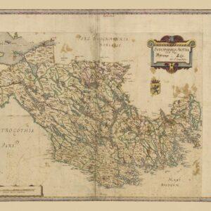 Södermanland sent 1600-tal