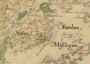 Södertörn sent 1600-tal