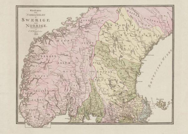 Sverige och Norge 1806